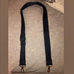 Kate Spade navy blue cloth strap